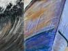 Wave Boat Parched Land Triptych