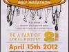 Corvallis Half Marathon 2012 Publicity Card